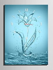 長方形 コンテンポラリー 壁時計,その他 キャンバス 35 x 50cm(14inchx20inch)x1pcs/ 40 x 60cm(16inchx24inch)x1pcs/ 50 x 70cm(20inchx28inch)x1pcs