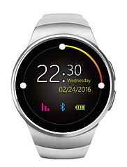 novi pametni sat telefon w18 mtk2502c okrugli zaslon 1,3 inča zaslon IPS LCD 240x240 Bluetooth 4.0 anti-izgubljeni upozorenje
