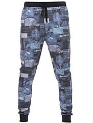 Dámské Aktivní Aktivní / Úzké / Kalhoty chinos Bavlna Elastické Kalhoty