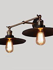 LED Zidni svijećnjaci,Rustikalni / seoski Metal