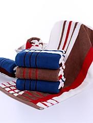 1ks plný bavlna ručník super soft 13 do 29 palců proužek vzor