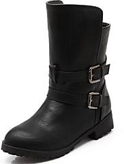 Boty-Lakovaná kůže Koženka Syntetika-Kombat boty Novinky Kovbojské Sněhule Gladiátorské Módní boty Motorkářské boty Pracovní obuv Boty s