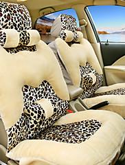 leopard autosedačka polštář plyšové teplá zima