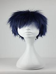 プロモーション黒子なしbasuke aomineダイキ30センチメートル短い青、黒のファッションコスプレウィッグパーティーcosumeウィッグ