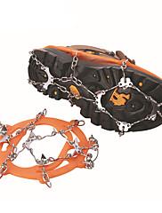 zapato antideslizante cubierta / cadena sencilla antideslizante ocho engranaje de hielo al aire libre de escalada / deslizamiento ocho