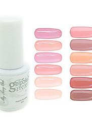 yemannvyou®sequins uv color gel na nehty no.37-48 (5 ml, různé barvy)