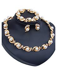 Dámské Sady šperků Imitace perly Euramerican Pryskyřice Imitace drahokamů Circle Shape ProSvatební Párty Zvláštní příležitosti Halloween