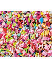 Puzzle Puzzle Stavební bloky DIY hračky Čtvercový Papír Zábava pro volný čas