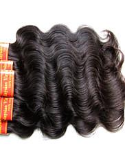 Малайзийская виргинская волна волос тела 300grams 6bundles много для одной головки 7a качество качества 100% человеческий волос машина,