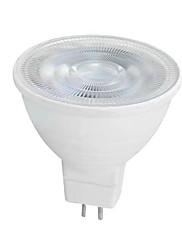 6W GU10 GU5.3(MR16) LED-spotlys MR16 SMD 2835 650 lm Varm hvid Hvid Vekselstrøm 220-240 V 1 stk.