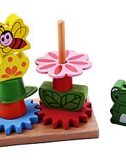 Stavební bloky za dárky Stavební bloky Dřevo 2-4 roky 5-7 let Hračky