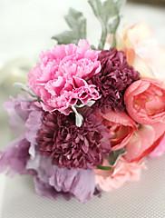 1 Větev Umělá hmota Rostliny Others Květina na stůl Umělé květiny