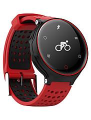 Smart armbåndVandafvisende Lang Standby Brændte kalorier Skridttællere Træningslog Pulsmåler Touch Screen Distance Måling Anti-lost APP