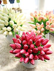 1 Větev Umělá hmota Tupilán Květina na stůl Umělé květiny