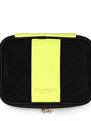 Ženy Skladovací taška Jiná kůže Celý rok Ležérní Bageta Zip Žlutá