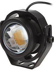 1pcs 1000lm 10w carro drl águia luz do olho levou luzes de neblina luz de funcionamento diurna luz de estacionamento reverso luz ip67
