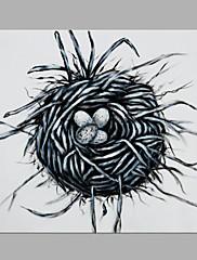 手描きの 抽象画 アーティスティック 1枚 キャンバス ハング塗装油絵 For ホームデコレーション