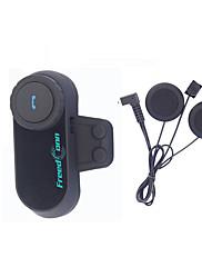 Motocicleta V4.0 Fones Bluetooth Mãos livres do carro Player MP3