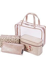 Ženy Skladovací taška PVC Celý rok Ležérní Bageta Zip Khaki