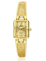 女性用 ファッションウォッチ ユニークなクリエイティブウォッチ ダミー ダイアモンド 腕時計 中国 クォーツ 合金 バンド 蝶型 シルバー