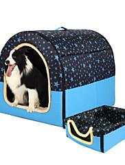 Gato Cachorro Camas Animais de Estimação Capachos e Alcochoadas Geométrica