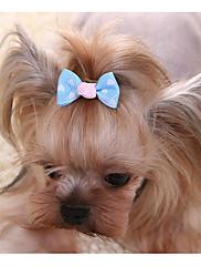 Cachorro Acessórios de Cabelo Roupas para Cães Casual Geometrico