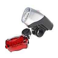 Kerékpár világítás Kerékpár első lámpa Kerékpár hátsó lámpa LED Kerékpározás AAA Lumen Akkumulátor Kerékpározás