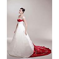 LAN TING BRIDE Linea-A Da principessa Vestito da sposa - Classico Elegante e di lusso Abiti sposa colorati Strascico da cappella
