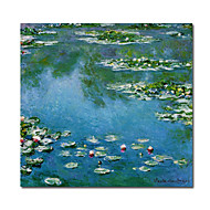 Hand-Painted Famous Landscape Square,Classic Traditional One Panel Canvas Oil Painting For Home Decoration