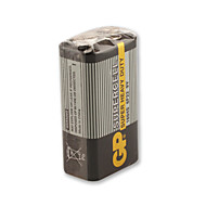 GP 9V 1604S/6f22 Super Heavy Duty Cell Battery(SUPPER HAPPY DUTY)