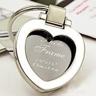 krom hjärtat nyckelring / Mini fotoram