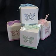 """""""Spring elegance"""" zugunsten Box mit Laser geschnitten Schmetterling (set of 12)"""