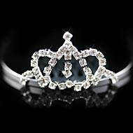 Blomsterpige Legering Medaljon Bryllup/Speciel Lejlighed Diademer Bryllup/Speciel Lejlighed