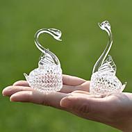 geschenken bruidsmeisjegift kristallen zwanen herinnering (set van 2)