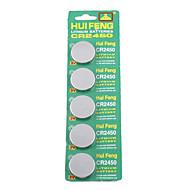 CR2450 3v høj kapacitet lithium knapcelle batterier (5-pack)