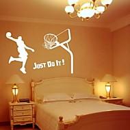 basketbal dekorativní stěna nálepka (0565-1105079)