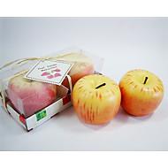 애플 디자인 캔들 선물 (2 세트)