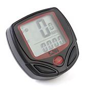 Digitális LCD kerékpáros óra 13 funkcióval (távolság, sebesség)