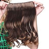 16 pollici di alta qualità fermaglio nei capelli ricci sintetico di estensione-2 colori disponibili