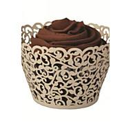 12 Stück / Set Geschenke Halter-Kreativ Kartonpapier Kuchenverpackung und Boxen Nicht personalisiert