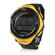 Men's Watch Sports Solar Powered Water Resistant Digital Multi-Function Cool Watch Unique Watch Fashion Watch