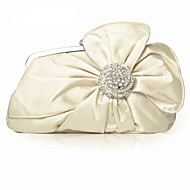 Silk With Crystal/ Rhinestone Party Clutches More Colors Available
