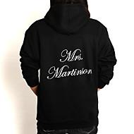 gepersonaliseerde mrs. hoodie (meer kleuren)