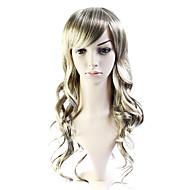 korkiton pitkä 100% lämmön ystävällinen kuitua tukka peruukki