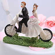 Cake Toppers Cycling Newlyweds Cake Topper