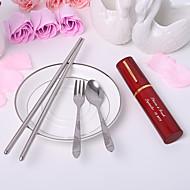 Herramientas de cocina(Rojo / Lila / Oro) -Tema Asiático / Tema Clásico-Personalizado Acero inoxidable