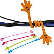 mão cabo padrão enrolador