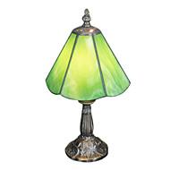 tiffany tafellamp met 1 licht groen