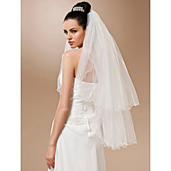 Two-tier Tulle Fingertip Veil (More Colors)