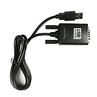 USB til RS232 seriel 9 pin DB9 kabel adapter til PC (5ft)